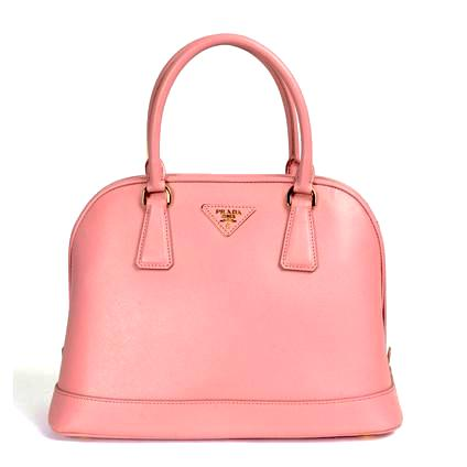 Prada Small Saffiano Leather Tote hang bag BN2567 Light Pink