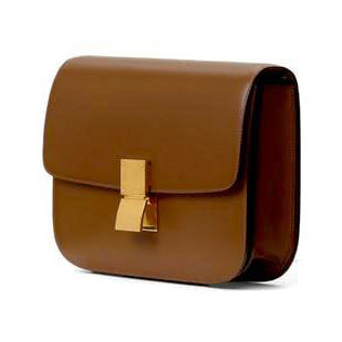 Céline Medium Classic Box Calf Leather Caramel