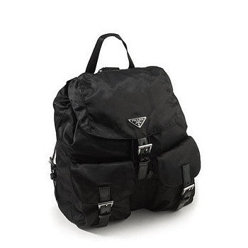 Prada Backpack Vela Nylon Small BZ2811 Black