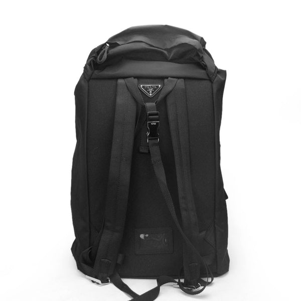2c20fa91cbba0e Prada Large Vela Nylon Backpack V136 Black (Nero) – BRANDS N BAGS