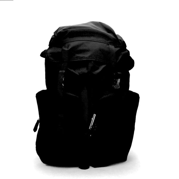 Prada Large Vela Nylon Backpack 2VZ136 Black (Nero)