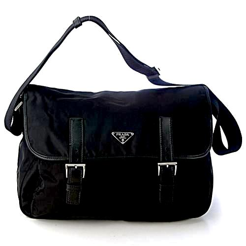 Prada Messenger Shoulder Bag BT0171 Black (Nero)