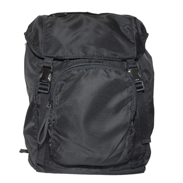 Prada Backpack Large Vela Sport Nylon V135 Black (Nero)