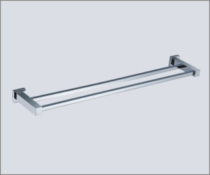 ROLA 450MM DOUBLE TOWEL RAIL