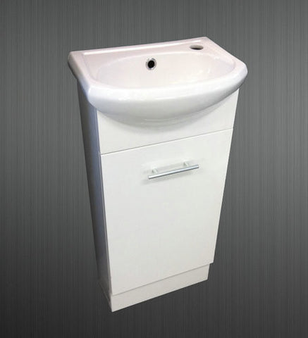 400mm SEMI-RECESSED VANITY UNIT