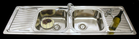 1524mm Tandi Double Bowl Sink