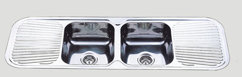 1500mm Grande Double Bowl Sink