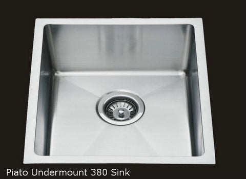 PIATO 380 SINGLE UNDERMOUNT SINK