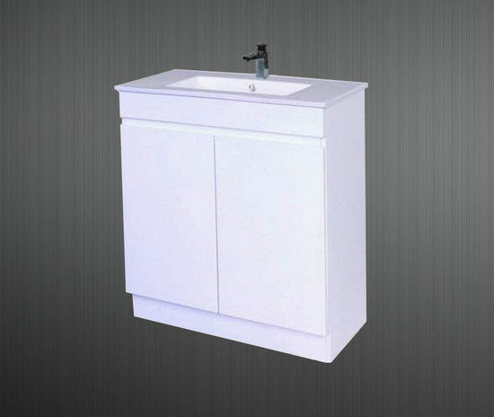 750mm Slimline Vanity Unit 1 Tap Hole 750mm Vanity Unit