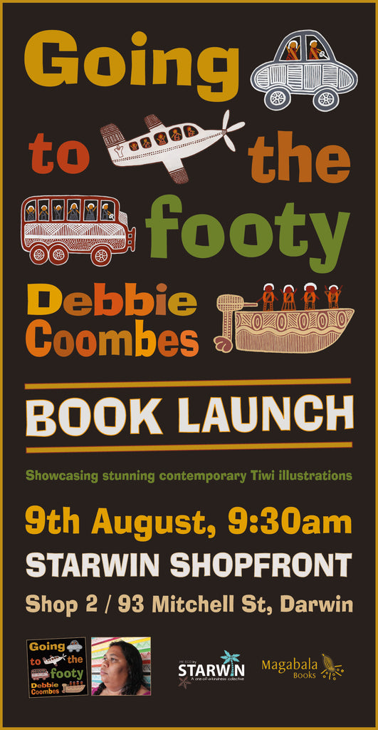 Going to the Footy - Book Launch