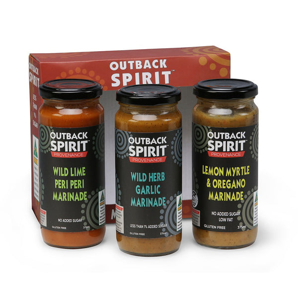 Outback Spirit Marinade Gift Pack