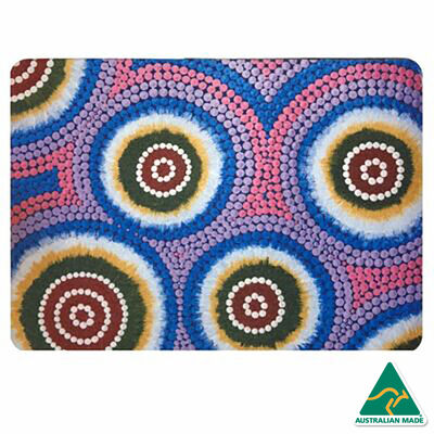 Recycled Mats Placemat: Spinifex Dreaming