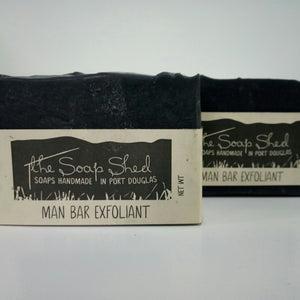 The Soap Shed - Man Bar Exfoliant