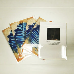 Aly de Groot Cards - Leaf