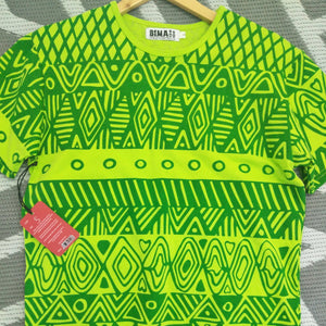 Bima Wear Unisex Tee - Turlini Lime Green