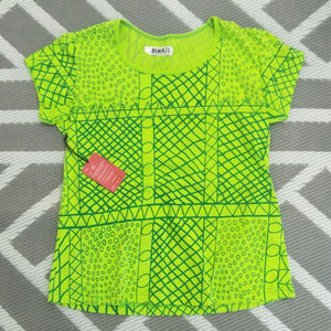 Bima Wear Womens Tee - Yirrikipayi Lime