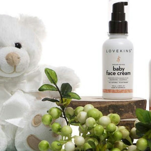 Lovekins Baby Face Cream