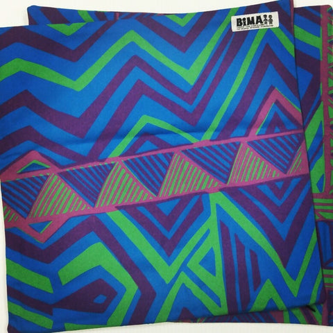 Bima Wear Cushion Cover: Blue Purple