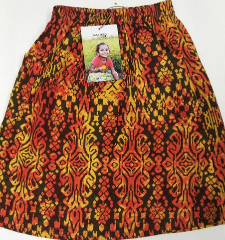 Yapa Skirts for Little Ones: Orange