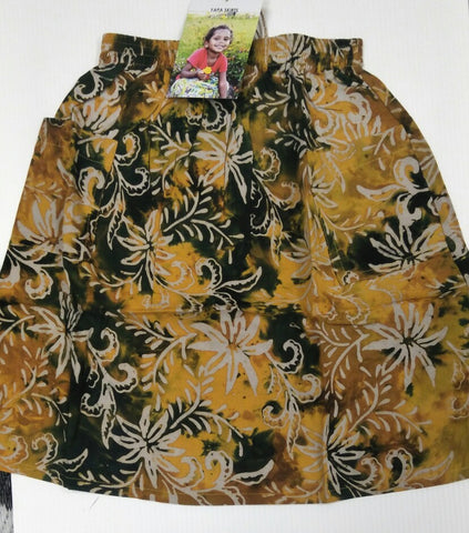 Yapa Skirts for Little Ones: Yellow flowers
