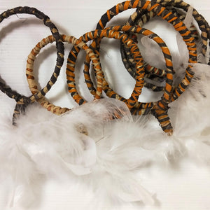 Tiwi Ceremonial Arm Bands - by Jacinta