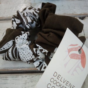 Delvene Cockatoo-Collins Scrunchies