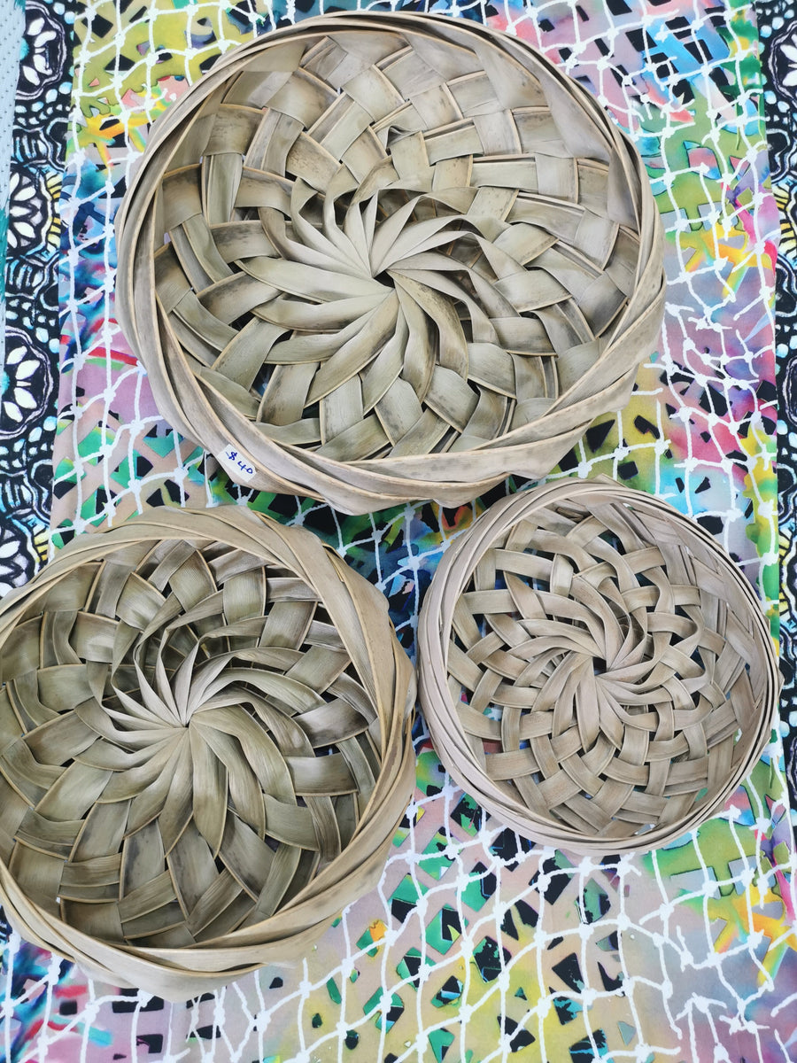 Coconut Leaf Woven Bowl Starwin