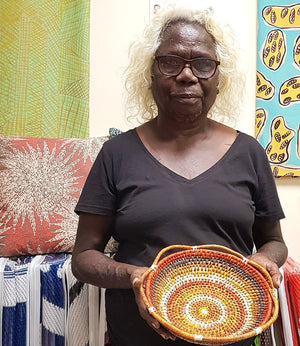 Tiwi Weaving - Bowl by Sandy