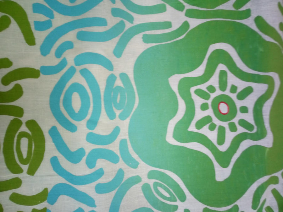 Yarrabah Arts Tablecloth: Sea