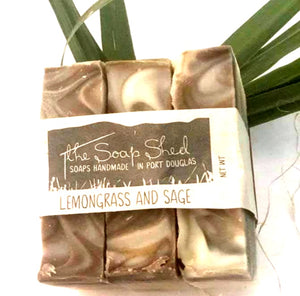 The Soap Shed - Lemongrass and Sage Soap Bar