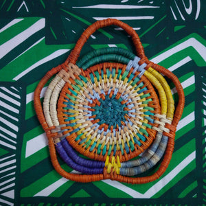 Tiwi Weaving - Wall Hanging by Frances