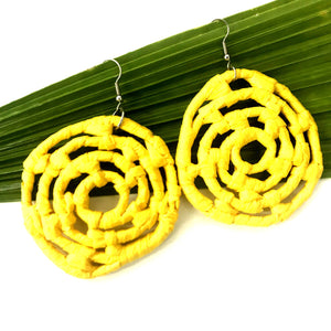 Plant Based Native Earrings - Yellow