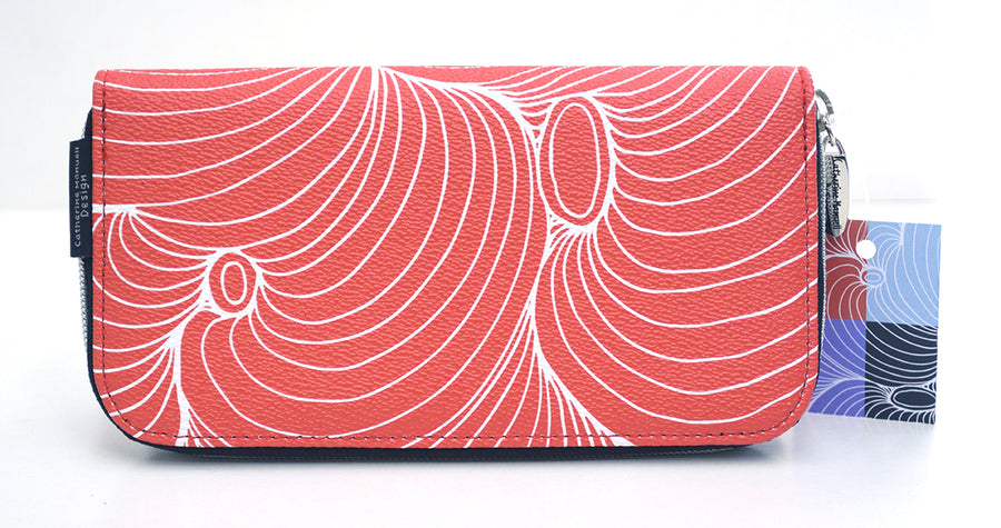 MK Eco x CMD Curved Wallet Red Dust