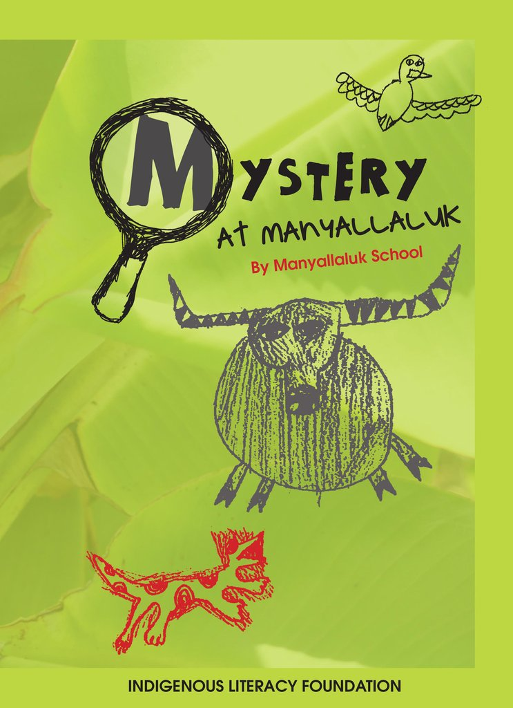 Mystery at Manyallaluk Book