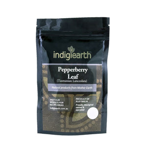 Indigiearth Herbs & Spices - Pepperberry Leaf