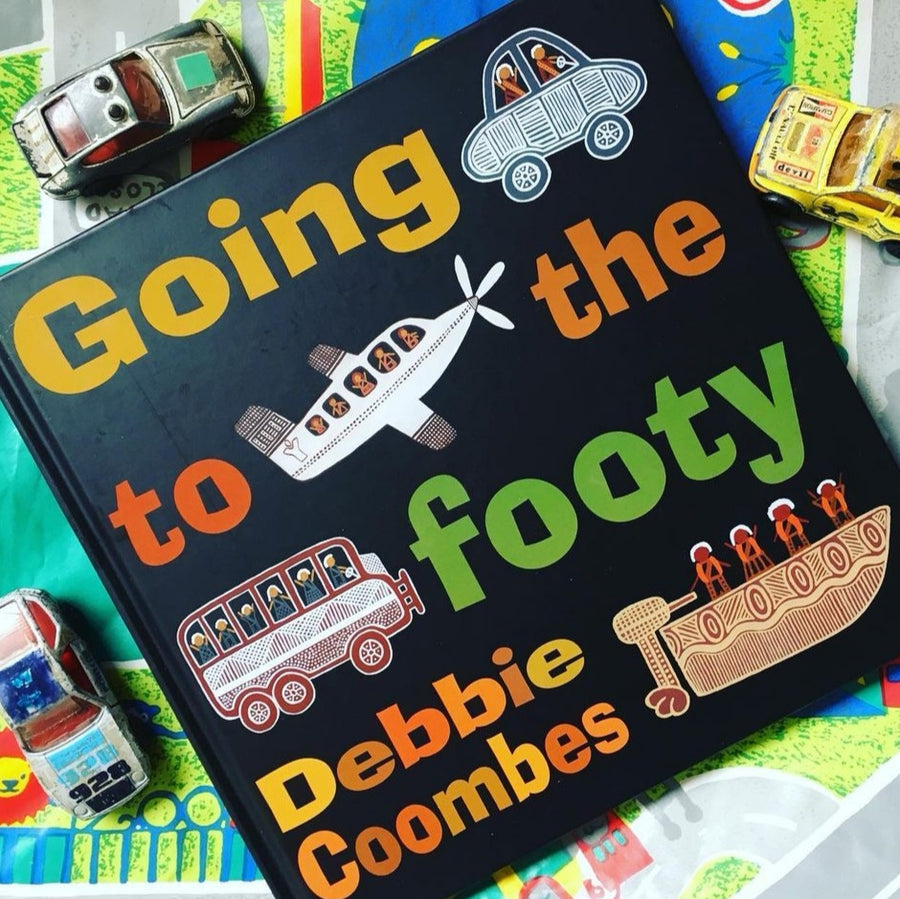 Going to the Footy Book by Debbie Coombes