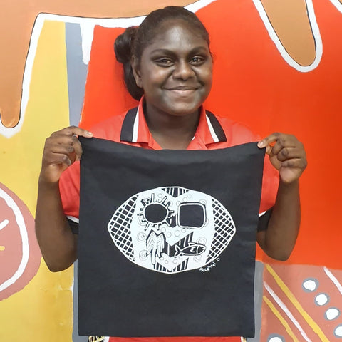 Tiwi Tote Bags - Skin Groups