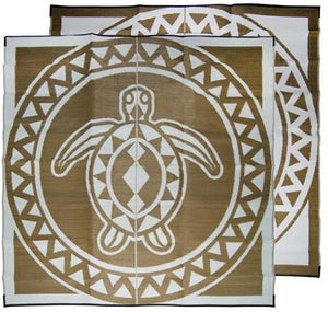 Starwin Social Enterprise, Aboriginal Mats - TSI Turtle Circle Bronze