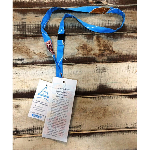 Starwin Social Enterprise, Ausdesigns Lanyard - Turtle