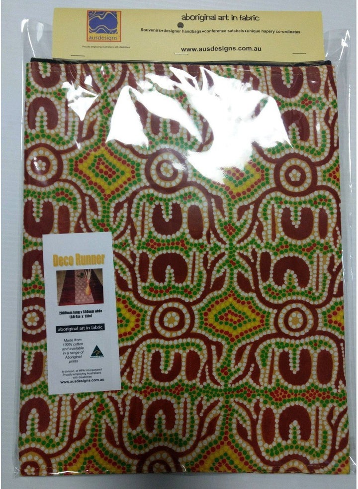 Starwin Social Enterprise, Ausdesigns Table Deco Runner - Bush Yams