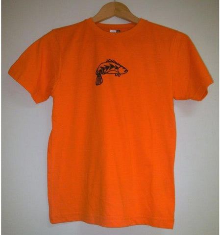 Starwin Social Enterprise, Babbarra Kids Tee - Barra Orange