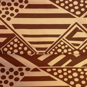 Bima Wear Fabric Cotton - Tukataringa Brown-Bima Wear-Starwin Social Enterprise