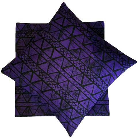 Bye Mee Cushion Cover - Yalanji Purple-Bye Mee-Starwin Social Enterprise