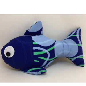 Bye Mee Soft Toy - Navy Fish-Bye Mee-Starwin Social Enterprise