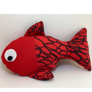 Bye Mee Soft Toy - Red Fish-Bye Mee-Starwin Social Enterprise
