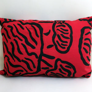 Bye Mee Travel Cushion - Babbarra Red-Bye Mee-Starwin Social Enterprise