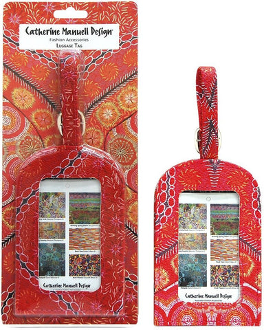 Starwin Social Enterprise, Catherine Manuell Luggage Tag - Put Tjuta