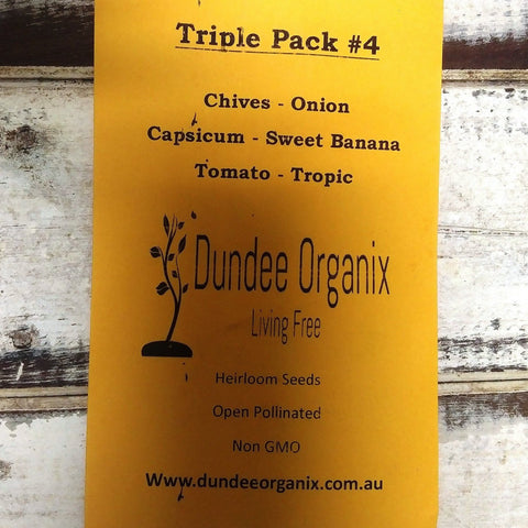 Starwin Social Enterprise, Dundee Organix Seeds - Triple Pack #4