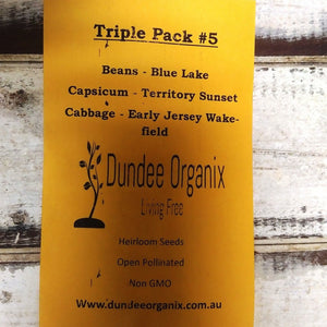 Starwin Social Enterprise, Dundee Organix Seeds - Triple Pack #5