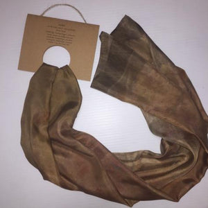 Eco Scarf Large - Fawny Tones-Doreen Dyer-Starwin Social Enterprise